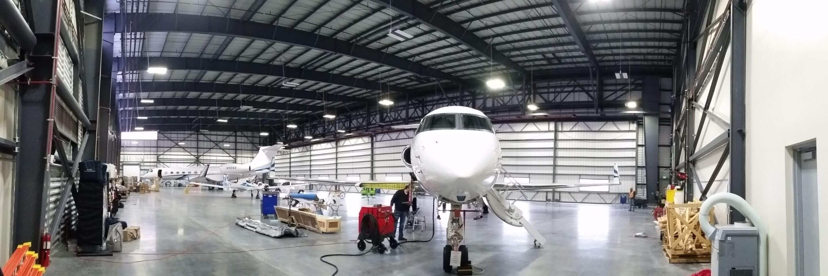 Signature Flight / Google Hangar