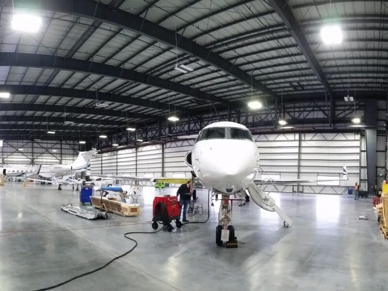 Signature Flight / Google Hangar