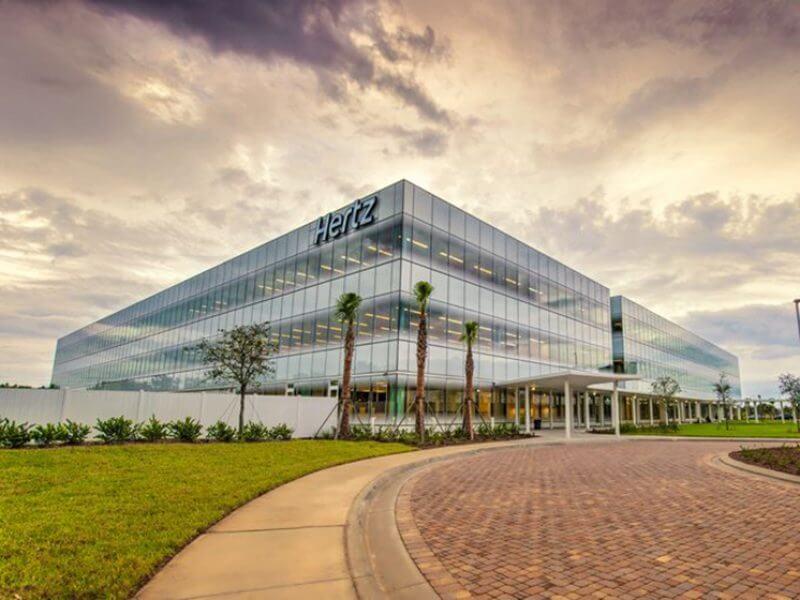 Hertz Corporation S Global Headquarters And Parking Garage