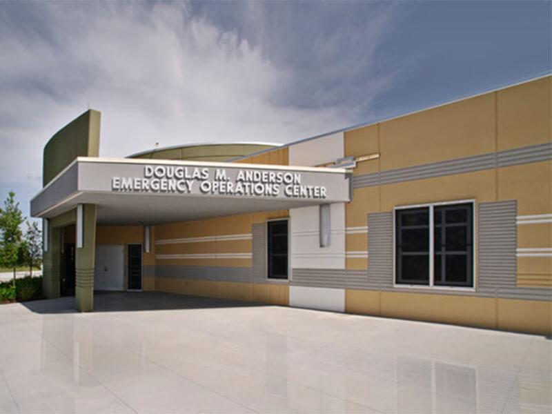 Douglas M Anderson Emergency Operations Center Oci Associates